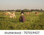 The Farmer In The Field With...