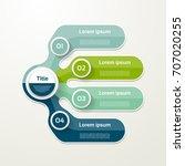 four elements banner. 4 steps...   Shutterstock .eps vector #707020255