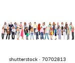 people diversity business | Shutterstock . vector #70702813