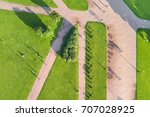 view from the height of the... | Shutterstock . vector #707028925
