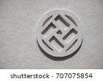 sri lanka   pattern on the grey ...   Shutterstock . vector #707075854
