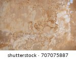 beige wall with mold  ... | Shutterstock . vector #707075887
