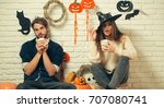 Halloween Couple In Love With...