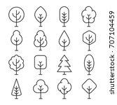 Tree Line Icon. Naturally...