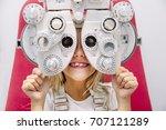 Concept vision testing. child...