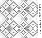 ethnic seamless surface pattern ... | Shutterstock .eps vector #707152177
