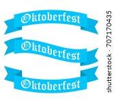 oktoberfest ribbon banners in...
