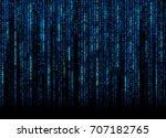 blue software codes   Shutterstock . vector #707182765