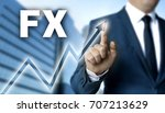 fx touchscreen is operated by... | Shutterstock . vector #707213629