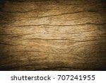 old grunge wood texture... | Shutterstock . vector #707241955