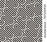 vector seamless pattern. modern ... | Shutterstock .eps vector #707255935