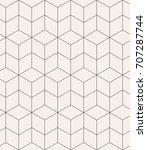 vector seamless pattern. modern ...   Shutterstock .eps vector #707287744