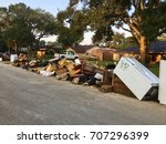 Debris From Hurricane Harvey...