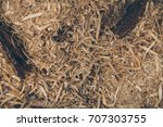 Sawdust Texture And Background...