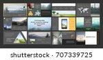 original presentation templates ... | Shutterstock .eps vector #707339725