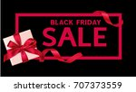 black friday sale template.... | Shutterstock .eps vector #707373559
