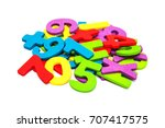 Colorful Wooden Numbers...