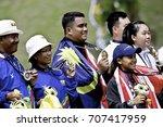 kuala lumpur  malaysia 22... | Shutterstock . vector #707417959