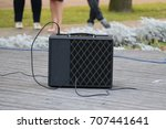 professional  sound system... | Shutterstock . vector #707441641