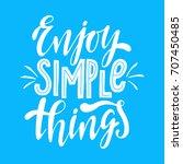 enjoy simple things