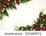 Christmas background border...