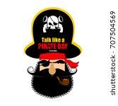 international talk like a...   Shutterstock .eps vector #707504569