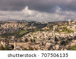 aerial view around old city of... | Shutterstock . vector #707506135