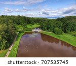 top view of parks in st.... | Shutterstock . vector #707535745