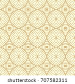stylish decorative fabric... | Shutterstock .eps vector #707582311