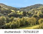 view to scenic stettbacher tal... | Shutterstock . vector #707618119
