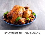 Roast Chicken With Potato And...