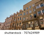 houses in germany with sun leaks | Shutterstock . vector #707624989