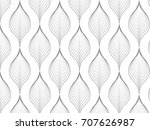 flower pattern vector ... | Shutterstock .eps vector #707626987