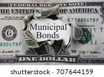 municipal bond message in a... | Shutterstock . vector #707644159