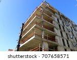 building | Shutterstock . vector #707658571