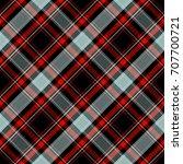 seamless tartan plaid pattern.... | Shutterstock .eps vector #707700721