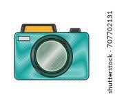 photographic camera icon | Shutterstock .eps vector #707702131