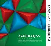 vector geometric background in... | Shutterstock .eps vector #707710891