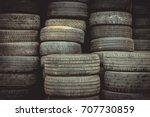 Black Used Tyres
