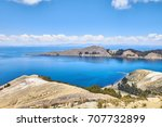 isla del sol  titicaca lake ...   Shutterstock . vector #707732899