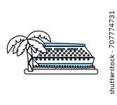 isolated cruise design | Shutterstock .eps vector #707774731