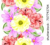 abstract elegance seamless... | Shutterstock . vector #707792704