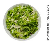 cabbage salad in a plate... | Shutterstock . vector #707821141