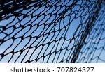 net background   net on blue sky | Shutterstock . vector #707824327