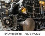 Old Steam Locomotive In...