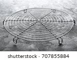 Metal Cooling Grid On Grunge...