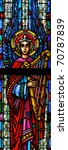 stained glass window of angel... | Shutterstock . vector #70787839