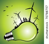 environmental conservation. | Shutterstock .eps vector #70788757