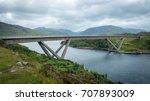 the kylesku bridge is a...