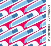 pattern flat stationery knife ...   Shutterstock .eps vector #707900305